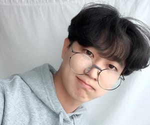 asian, ulzzang, and fluffy image