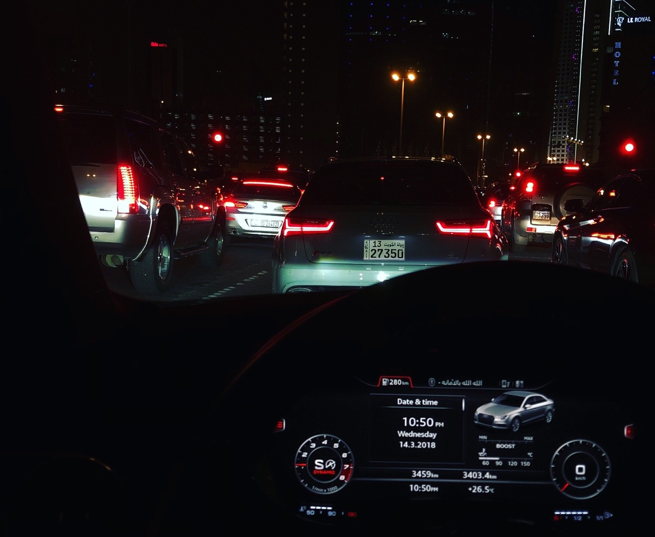 car, fast, and night image