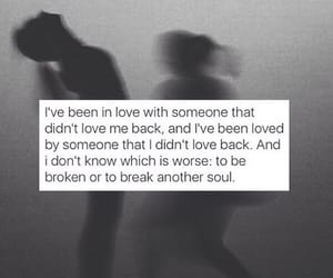 anxiety, in love, and broken image