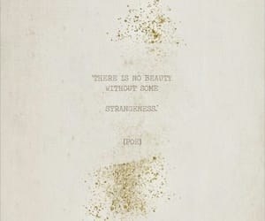beautiful, quote, and poe image