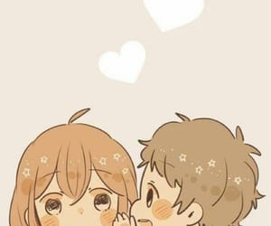 cute, anime, and couple image