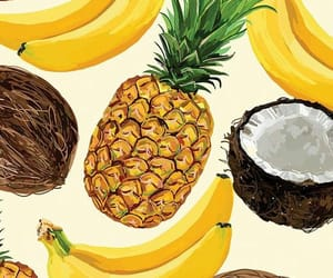 wallpaper, fruit, and banana image