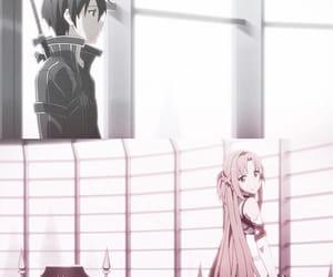 asuna, anime, and sword art online image
