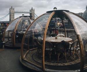 foggy, london, and restaurant image