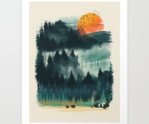 art, canvas, and illustration image