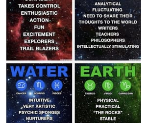 air, astrology, and earth image