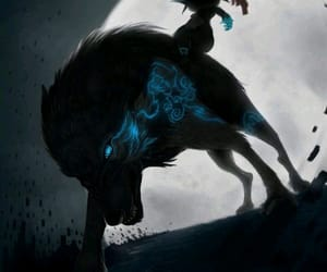 link, midna, and fanart image