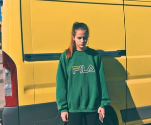 aesthetic, fashion, and Fila image
