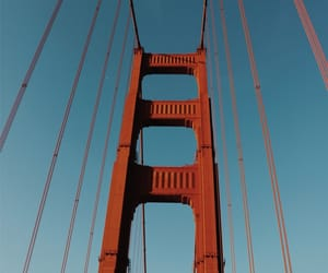 california, golden gate, and life image