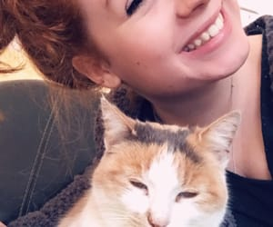 cat, smile, and chat image