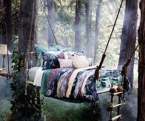 awesome, bed, and birds image