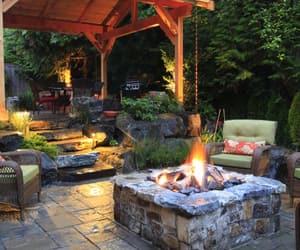 home, backyard, and inspiration image