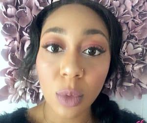 makeup, sephora, and pink eyeshadow image