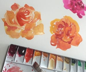 art, paint, and colorful image