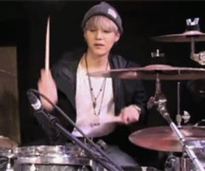 boy, drums, and yoonkook image