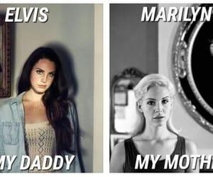 Elvis Presley, Marilyn Monroe, and lizzy grant image