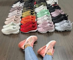 sneakers, nike, and adidas image