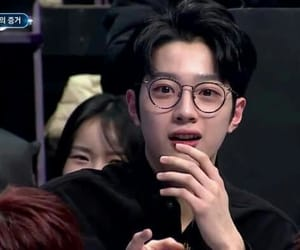 reaction, wanna one, and kuanlin image