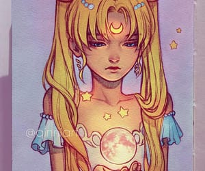 sailor moon, art, and anime image