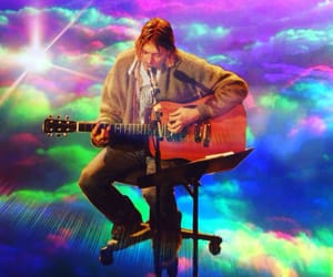 music, nirvana, and psychedelic image