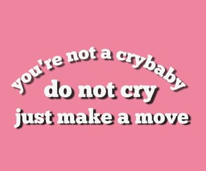 cry, crybaby, and do image