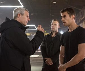 behind the scenes, director, and on set image