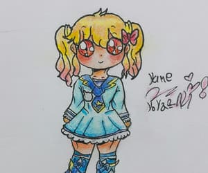 fan art, my drawing, and aikatsu image