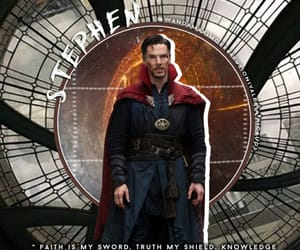 benedict cumberbatch, doctor strange, and stephen strange image