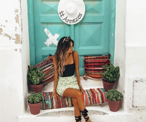 bohemian, summer, and chic image