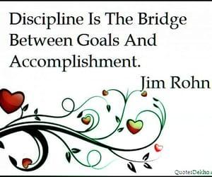 discipline, focus, and mission image
