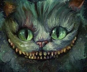 alice in wonderland, art, and creepy image