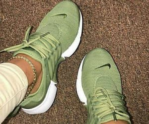 cool, green, and nike image