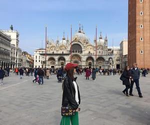 girl, italia, and venezia image