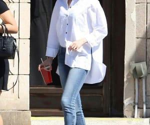 girl, selena gomez, and jeans image