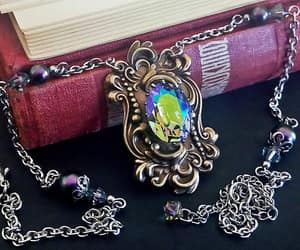 bridal necklace, etsy, and gothic jewelry image