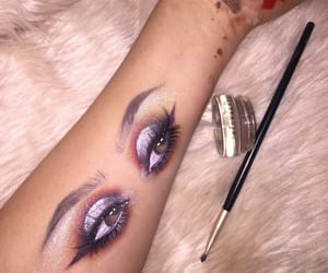 arm, Brushes, and eyebrows image