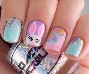 bunny and nails image