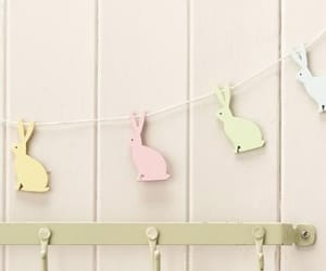 bunnies, easter, and pastels image