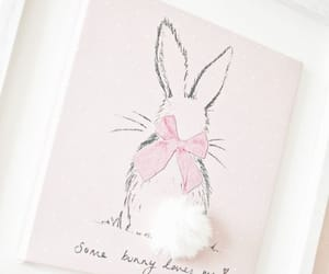 bunnies, easter, and eggs image