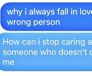 brokenheart, chatting, and sad image