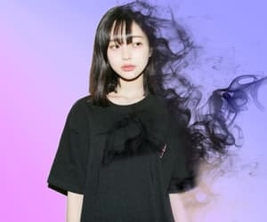 art, black, and blur image