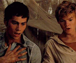 the maze runner and thomas brodie sangster image