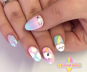nails and unicorn image