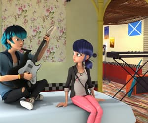 spoiler, marinette, and luka image