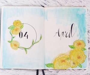 agenda, april, and art image