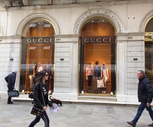 dress, gucci, and rich image