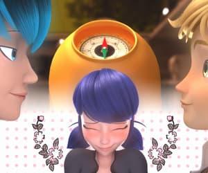 adrien agreste, luka, and miraculous ladybug image