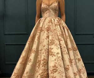 dress, gown, and long image