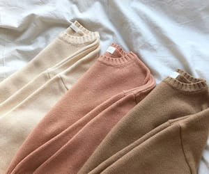 aesthetics, sweaters, and brown image