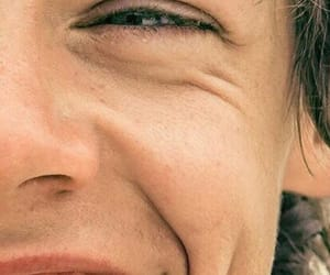 smile and Harry Styles image
